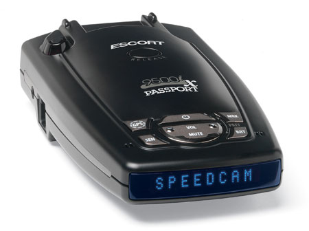 Escort 9500ix Radar Detector 9500IX BLUE Passport 9500ix - Blue Display