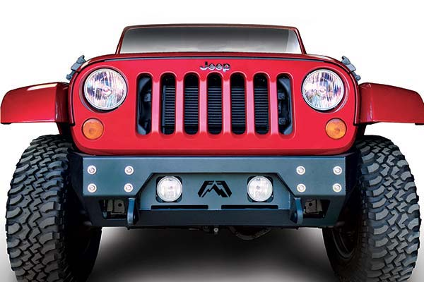 fab fours full metal jacket stubby winch bumper sample