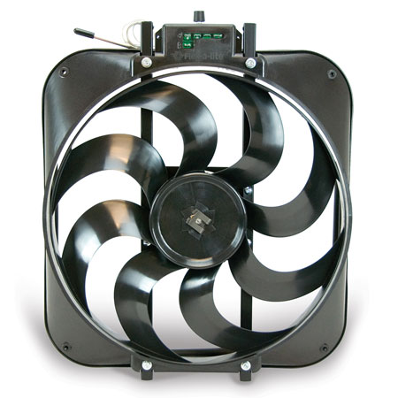 Flex-a-lite Black Magic S-blade Universal Electric Cooling Fans 160 7706-3880720