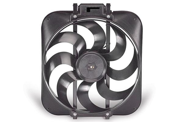 cooling Flex-a-lite Black Magic S-blade Universal Electric Cooling Fans 168