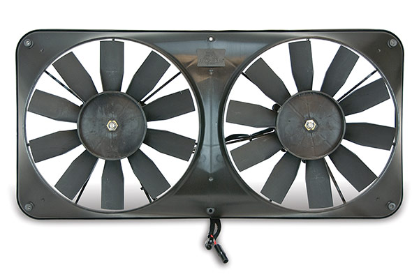 cooling Flex-a-lite Compact Dual Universal Electric Cooling Fans 340