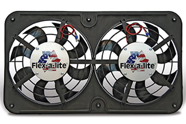 cooling Flex-a-lite Low Profile S-blade Universal Electric Cooling Fans 420