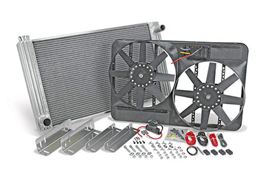 flex a lite universal aluminum radiator electric cooling fan sample-image
