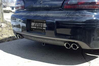 Flowmaster Dual Exhaust Tips Round Angle Cut Exhaust Tips By
