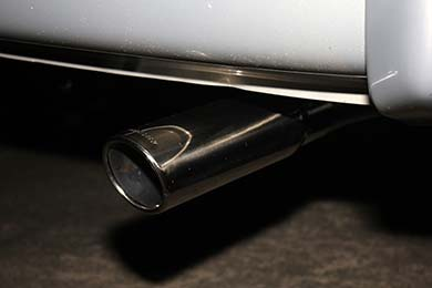 With Single Exhaust Tip