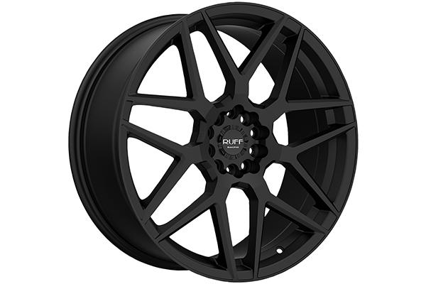 ruff racing r351 wheels flat black sample