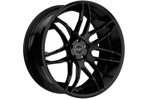 ruff racing r960 wheels satin black sample