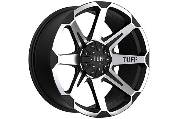 tuff T05 black machinedface