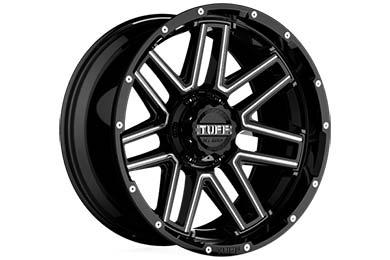 good roads tuff at t17 wheels gloss black milled spokes 5 sample