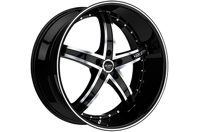 ruff racing r953 wheels black with machined face sample