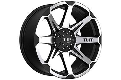 tuff T05 black machinedface