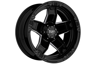 tuff at t10 wheels glossblack milledspokes