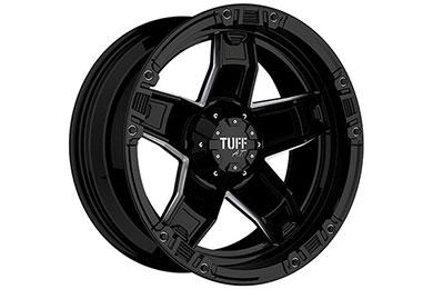 tuff at t10 wheels glossblack milledspokes