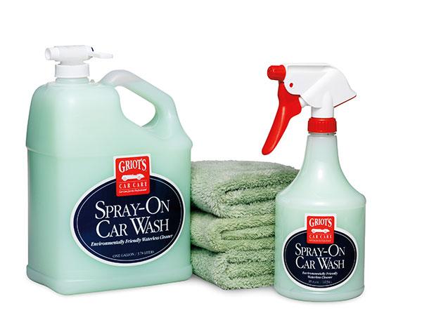 Spray Car Wash: Griot's Garage Complete Spray-On