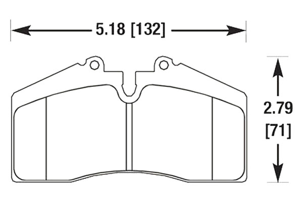 hawk brake pads diagrams HB141