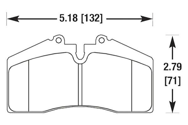 hawk brake pads diagrams HB141