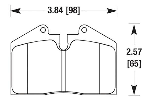 hawk brake pads diagrams HB170