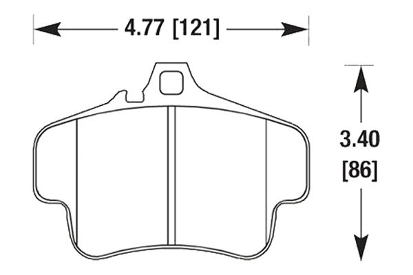 hawk brake pads diagrams HB291