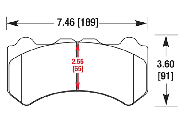 hawk brake pads diagrams HB650