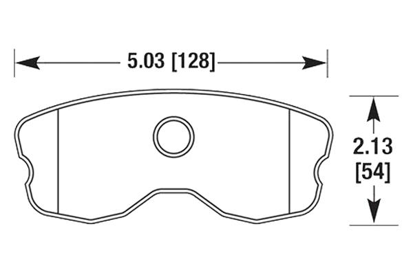 hawk brake pads diagrams HB659