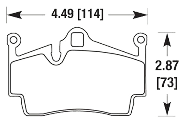 hawk brake pads diagrams HB665