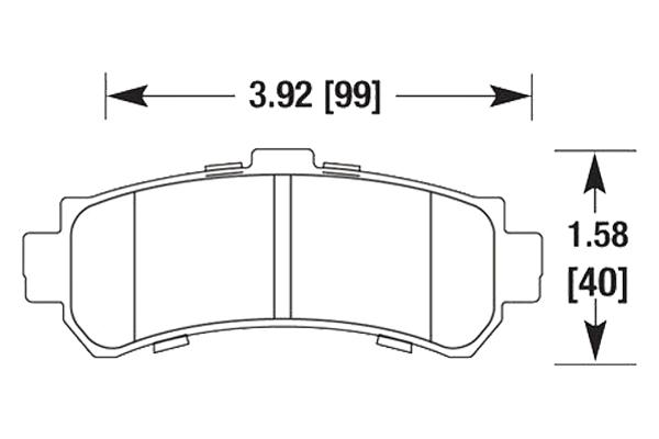 hawk brake pads diagrams HB680
