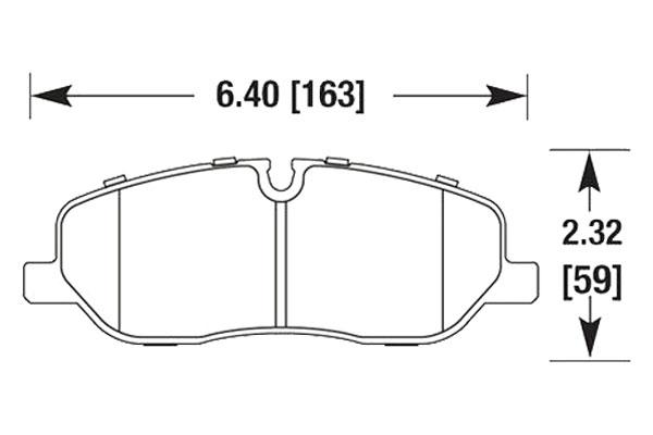 hawk brake pads diagrams HB681