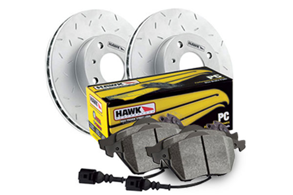 hawk performance ceramic rear wheel brake kit sample