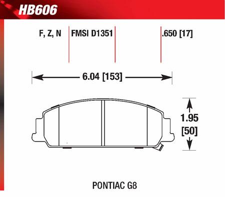 hawk HB606