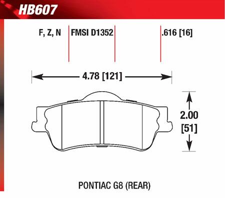 hawk HB607