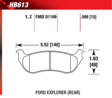 hawk HB613