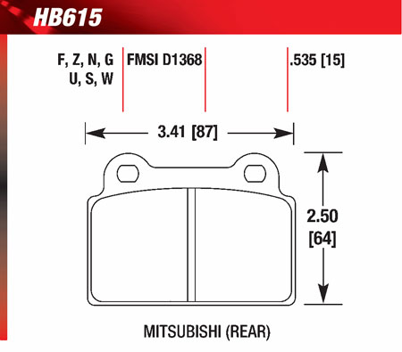 hawk HB615