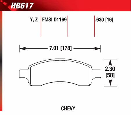 hawk HB617