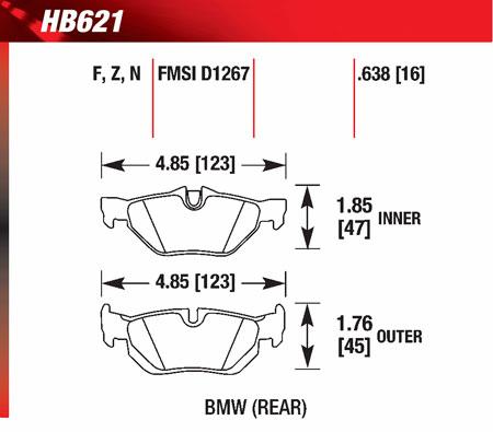 hawk HB621
