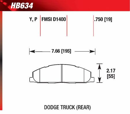 hawk HB634