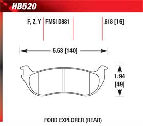 hawk HB520