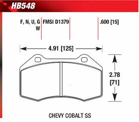hawk HB548