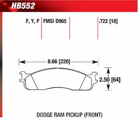 hawk HB552