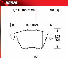 hawk HB625Z760