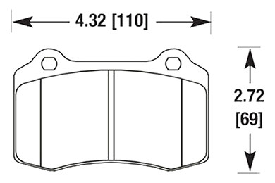 hawk brake pads diagrams HB194