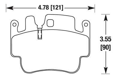 hawk brake pads diagrams HB550