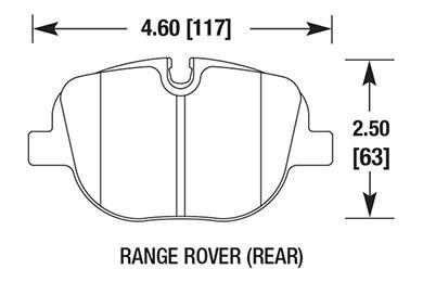hawk brake pads diagrams HB686