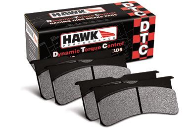 hawk dtc racing brake pads sample