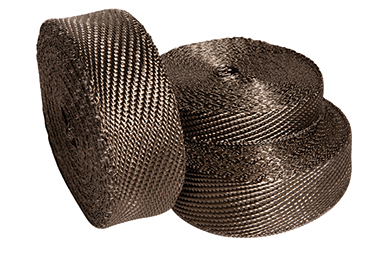 heatshield products lava exhaust wrap sample