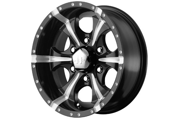 helo he791 maxx wheels gloss black with ball milled finish six spoke sample