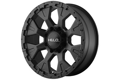 helo he878 wheels satin black sample