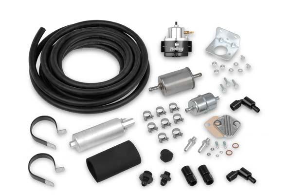 Holley EFI Fuel System Kit 526-4 EFI Fuel System Kit 15766-6387306