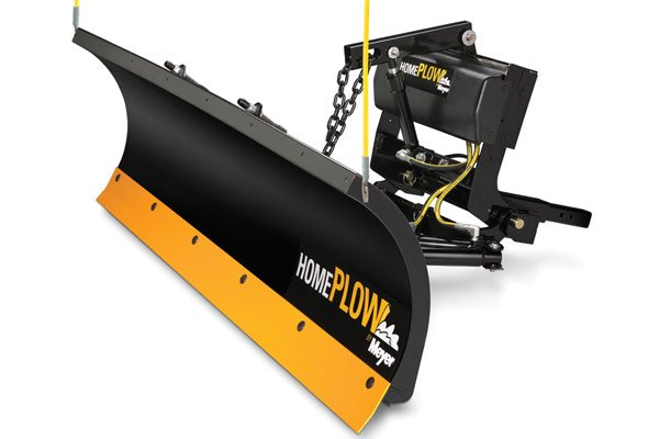 """HomePlow Full Hydraulic Power-Angling Snow Plows 26000 6' 8"""" Blade"""