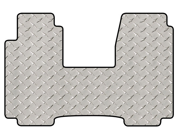 intro-tech diamond plate mat 1pc front