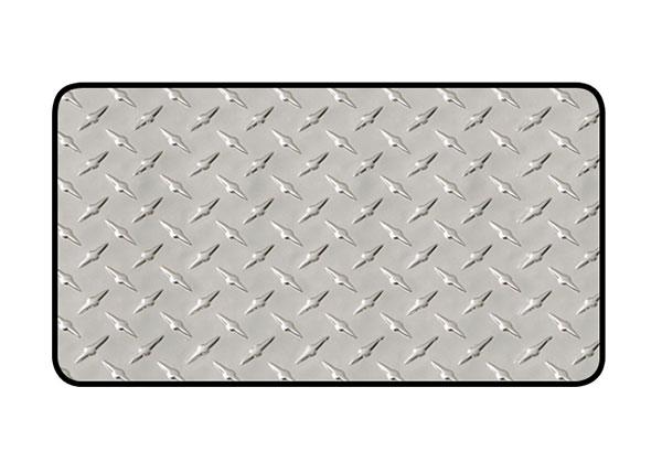 intro-tech diamond plate mat center runner
